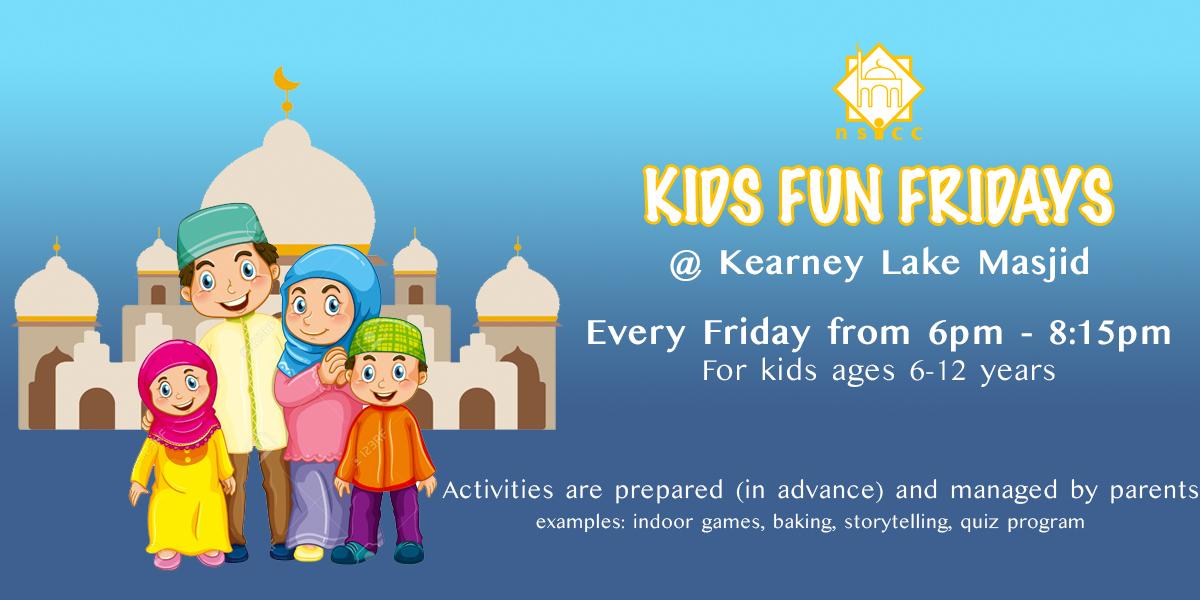 Kids Fun Fridays – Nova Scotia Islamic Community Centre (NSICC)